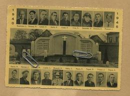 Rixensart :  WW2  Oorlog Guerre 1940 - 1945  Résistance : Morts En Service Commandé   (  15 X 10.5  Cm ) - Rixensart