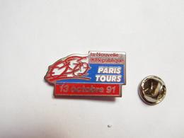 Beau Pin's , Cyclisme Vélo , Paris - Tours , Média Journal La Nouvelle République , Verso Lisse - Cycling