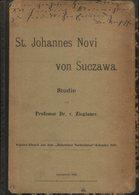 St. Johannes Novi Von Suczawa, Studie. - Alte Bücher