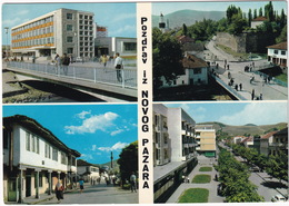 Novi Pazar - 'Pozdrav Iz Novog Pazara' -  (Serbia, YU.) - Joegoslavië