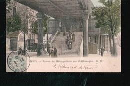 CPA137.....PARIS...METROPOLITAIN RUE D ALLEMAGNE - Frankrijk