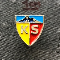 Badge Pin ZN008547 - Football (Soccer Calcio) Turkey KS Kayserispor - Football