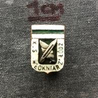 Badge Pin ZN008548 - Football (Soccer Calcio) Poland Włókniarz Łódź (Wlokniarz Lodz) - Football