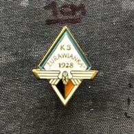 Badge Pin ZN008549 - Football (Soccer Calcio) Athletics Wrestling Poland Żurawianka Żurawica (Zurawianka Zurawica) - Football
