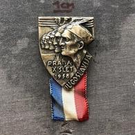 Badge Pin ZN008553 - Sokol Yugoslavia (Jugoslavija) Czechoslovakia Praha (Prague) 1938 - Sin Clasificación