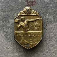 Badge Pin ZN008558 - Gymnastics Austria Wiener (Vienna) Turngau 1925 - Gymnastics