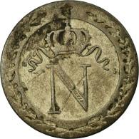 Monnaie, France, Napoléon I, 10 Centimes, 1808,Rouen,TB+,Billon,KM 676.2,Gad 190 - France