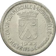 Monnaie, France, Union Commerciale Et Industrielle, Frévent, 10 Centimes, 1922 - Monétaires / De Nécessité