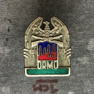 Badge Pin ZN008570 - Army (Military) Poland ORMO Ochotnicza Rezerwa Milicji Obywatelskiej Volunteer Reserve Militia 1946 - Militaria