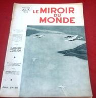 Le Miroir Du Monde N°175 Juillet 1933 Colette Henri Duvernois,Mme Segond Weber,Wallons Waterloo Flamands Dixmude - Libros, Revistas, Cómics
