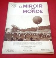 Le Miroir Du Monde N°176 Juillet 1933 André Antoine,Mgr Tong Evèque Annam,Bangkok,Chevaliers De Malte,Vignoble Algérie - Boeken, Tijdschriften, Stripverhalen
