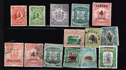 Labuan Bornéo Du Nord Anciens Timbres à Identifier - Collections (without Album)