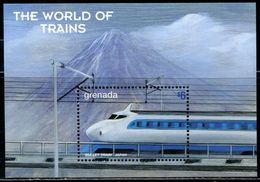 AE0241 Grenada 1999 Mount Fuji And Shinkansen Train M MNH - Grenada (1974-...)