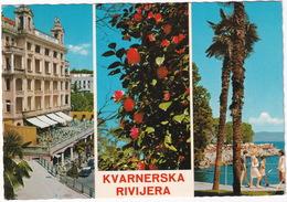 Opatija : TRIUMPH TR4, PORSCHE 356 - 'Kvarnerska Rivijera' -  (Croatia, YU.) - Toerisme