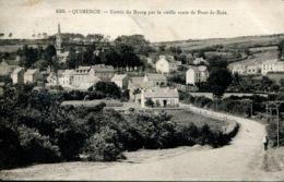N°74288 -cpa Quimerch -entrée Du Bourg Par La Vieille Route De Pont De Buis- - France