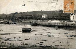 N°74292 -cpa Le Faou -le Port Aux Heures De Basse Marée- - France