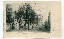 CPA 55 : VERDUN  Hotel Et Rue Chevert   A  VOIR  !!!!!!! - Verdun