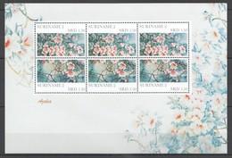 P1065 2011 SURINAME FLORA FLOWERS AZALEA 1KB MNH - Altri