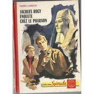 Jacques Rogy Enquete Chez Le Pharaon Pierre Lamblin +++BE+++ PORT GRATUIT - Bücher, Zeitschriften, Comics