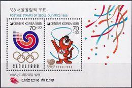 SÜDKOREA 1985 Mi-Nr. Block 500 ** MNH - Korea (Süd-)