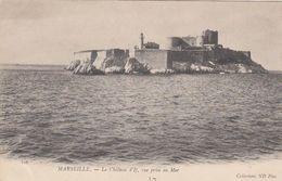 Cp , 13 , MARSEILLE , Le Château D'If, Vue Prise En Mer - Château D'If, Frioul, Iles ...