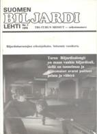 BILLARD - Biljardi N°3 1979 - Turku - Finlande .(jm) - Livres, BD, Revues