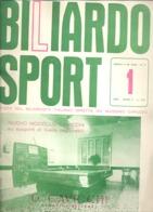 BILLARD / BILIARDO Sport - Revue De 1963 N°  (jm) - Sport