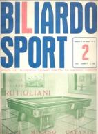 BILLARD / BILIARDO Sport - Revue De 1963 N° 2 (jm) - Sport