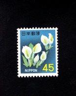 802303337 1966 SCOTT 884 POSTFRIS MINT  NEVER HINGED EINWANDFREI (XX) WHITE FLOWERS - 1926-89 Empereur Hirohito (Ere Showa)