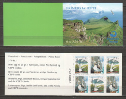 Faroe Islands 1991 Mi Markenheftchen 4 MNH BIRDS - Albatros