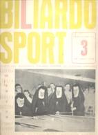 BILLARD / BILIARDO Sport - Revue De 1963 N° 3 (jm) - Sport