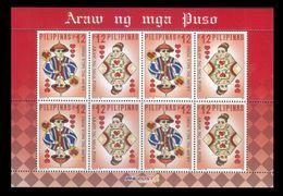 Filippine Philippines Philippinen Pilipinas 2019 Valentine Day Of The Hearts, Sheetlet - MNH** (see Photo) - Filippine