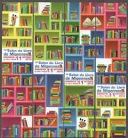 MIGENNES SALON DU LIVRE 2015 - MARQUE PAGE PUZZLE *197* - Bookmarks