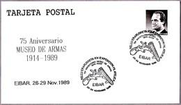 MUSEO DE ARMAS - PISTOLA - Museum Of Arms - Gun. Eibar, Pais Vasco, 1989 - Militares