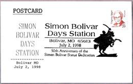 SIMON BOLIVAR Days. Bolivar MO 1998 - Militares
