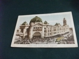 AUSTRALIA FLINDERS STREET RAILWAY STATION MELBOURNE - Melbourne