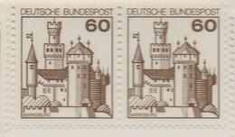 PIA - GERMANIA - 1977 : Serie Corrente - Castello Di Marksburg  - (Yv 765a) - Châteaux