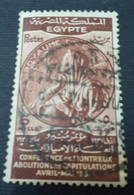 EGYPT 1937 , TREATY OF MONTREUX , MI 234 , VF, Heavy Stamp , See The Back Photo - Égypte