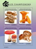 Guinea. 2019 Mushrooms. (0207a)  OFFICIAL ISSUE - Funghi