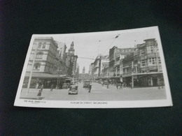 AUSTRALIA VIC.  MELBOURNE ELIZABETH STREET AUTO CAR TRAM PIEGA - Melbourne