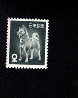 802313378 1953 SCOTT 583 POSTFRIS MINT  NEVER HINGED EINWANDFREI (XX) AKITA DOG - 1926-89 Empereur Hirohito (Ere Showa)