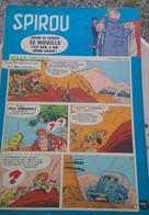 Spirou N° 1077 Du 4 Décembre 1958 : Spirou, Lucky Luke, Les Belles Histoires De L'oncle Paul, Gil Jourdan... - Spirou Magazine