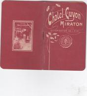 VP-GF 19-271 : CHATEL GUYON  CARNET POUR NOTES ET RENDEZ-VOUS AVEC CALENDIER 1910 - Reiseprospekte