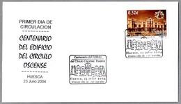 100 Años EDIFICIO DEL CIRCULO OSCENSE. SPD/FDC Huesca, Aragon, 2004 - Otros