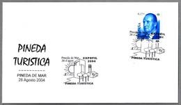 Pineda Turistica - IGLESIA DE SANTA MARIA. Pineda De Mar 2004 - Iglesias Y Catedrales