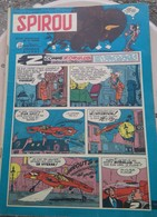 Spirou N° 1105 Du 18 Juin 1959 : Spirou, La Patrouille Des Castors, Football / Le Havre, Buck Danny, Prototype Conrero ! - Spirou Magazine