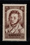 YV 310 Ampere N* (trace) Cote 20 Euros - Unused Stamps