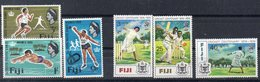 FIDJI  Timbres Neufs ** De 1966- 1974  ( Ref 557A )  Sport - 2 Séries - Fidji (1970-...)