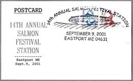 14th ANNUAL SALMON FESTIVAL. Eastport ME 2001 - Peces