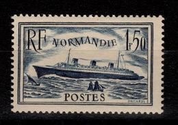 YV 299 N* (trace) Normandie Cote 15 Euros - Unused Stamps